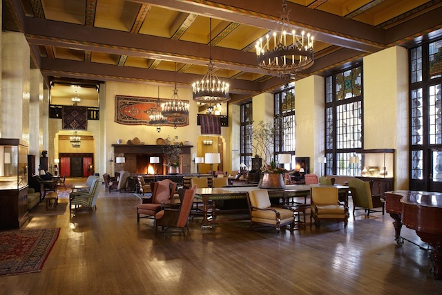 Great Lounge Renovation The Ahwahnee Hotel Yosemite National Park Ca