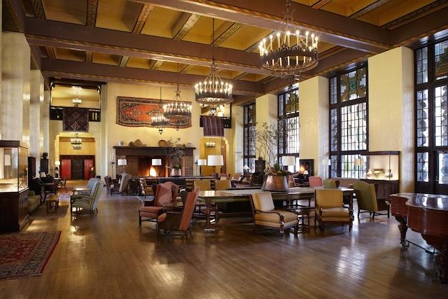 Great Lounge Renovation The Ahwahnee Hotel Yosemite
